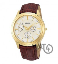 Часы SEIKO Leather Collection SNT006P