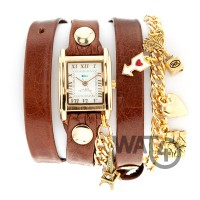 Paris Charm Brown Gold