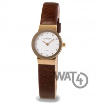 Часы SKAGEN Leather 358XSGLD