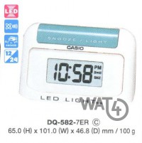CASIO Digital Clocks DQ-582-7