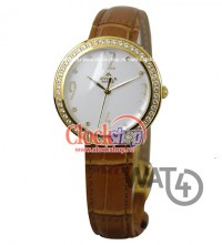 Часы APPELLA Leather Line Round 4028-1011