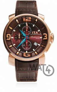 Часы I.T.A  Casanova Chrono Brown2