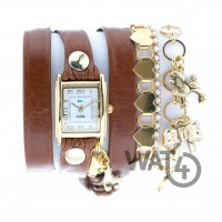 Sweet sixteen charm wrap watch