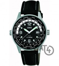 Часы COVER Co52 Co52.ST1LBK/GMT