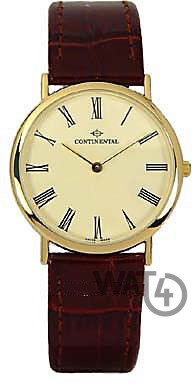 Часы CONTINENTAL Leather Sophistication 1945-GP156