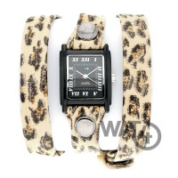 Leopard Wrap Black